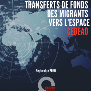 Rapport sur le transfert de fonds des migrants vers l'espace CEDEAO – septembre 2020